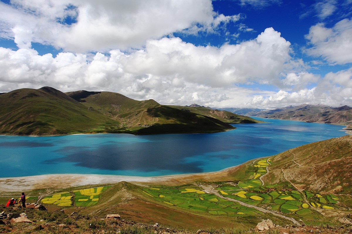 Yamdrok Lake | Foto von Mr. Zeng